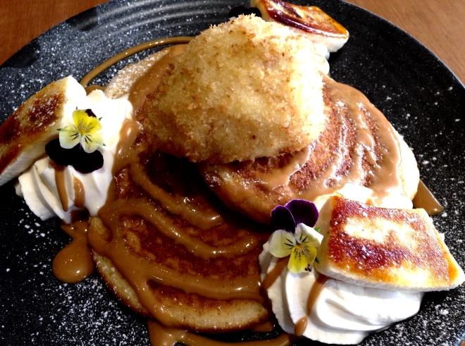 Banoffee Pancakes 131214