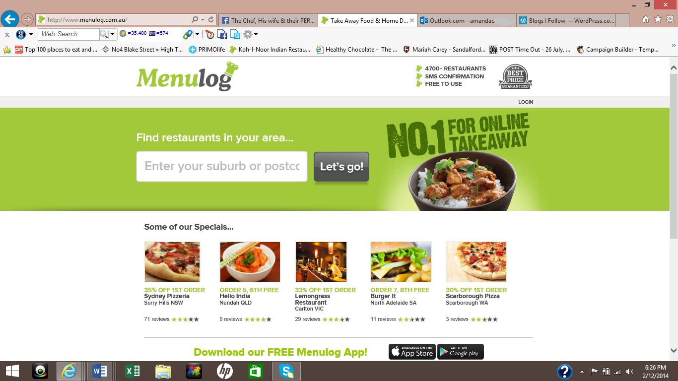Indian Food Order Online Perth