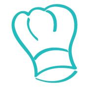 Chefs hat_blue