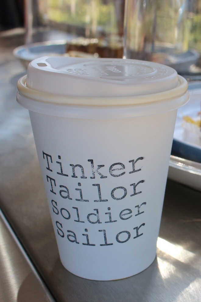 Tinker Tailor Soldier Sailor - Coffee Caravan