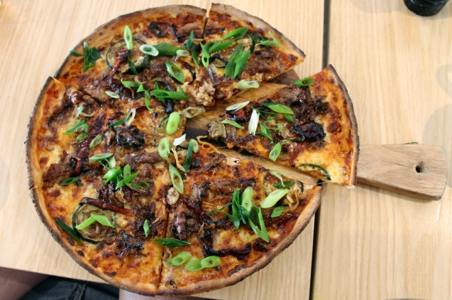 Duck Pizza